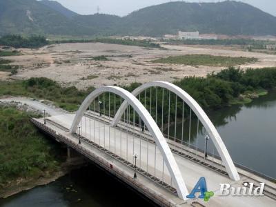 Части мостового перехода.