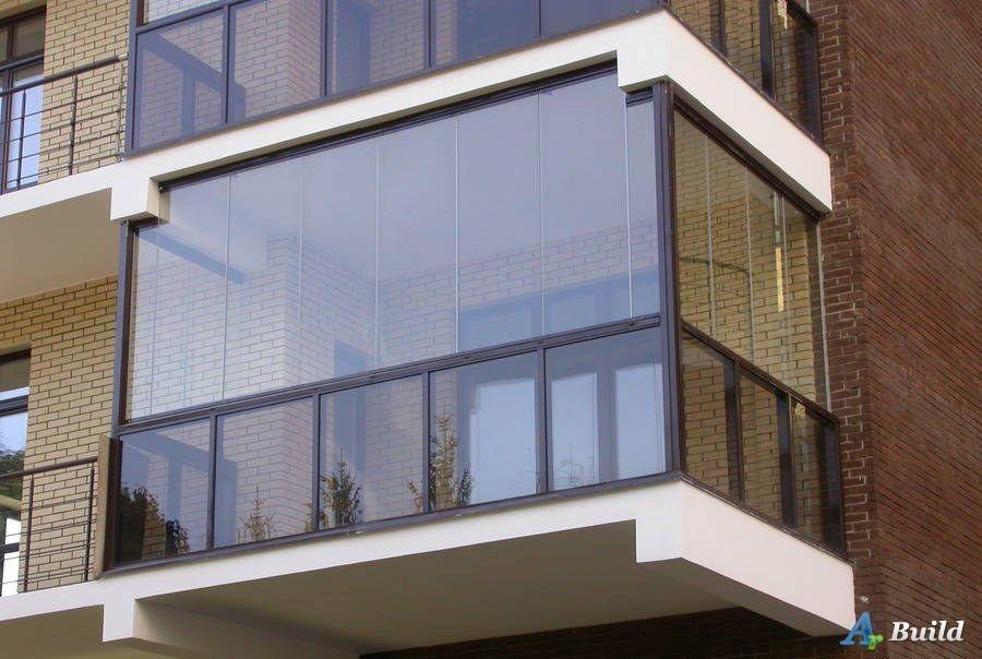 Металлическое ограждение для балконов (финские алюминиевые л.