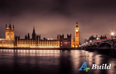 Размещение новых городов Великобритании.